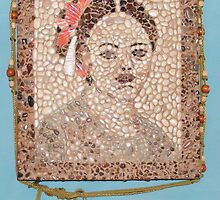 Pompei Lady Mosaic by Missygeecougar
