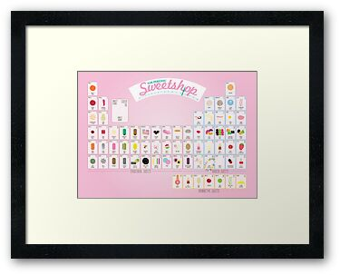 The Periodic Sweetshop - Pink! by Stephen Wildish