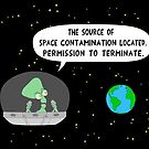 The Space Contamination by martoon