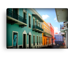 colorful streets Metal Print