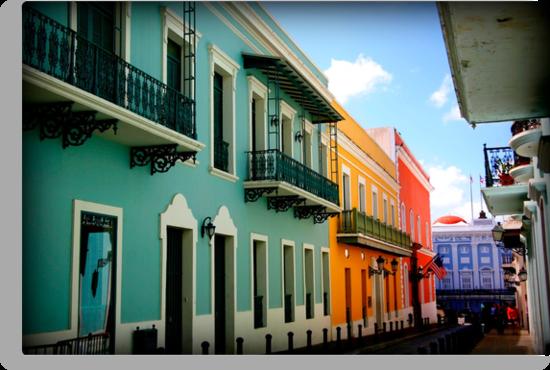 colorful streets by enutini