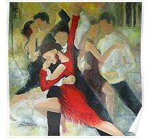 Sentimental tango Poster