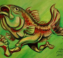 Green Fish Run by Ellen Marcus