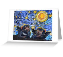 Devil Cherubs 2 Greeting Card