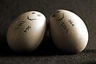 Happy Couple Of Eggs by Evita