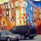 Street Art City Mural by Darlene Bayne