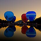 Canberra Balloons by Bill Atherton