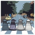 Abbey Road Daleks by Matt Mawson