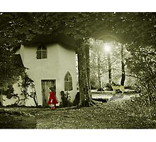 Little Red Riding Hood.. Photographic Print