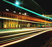 Light Trails - Bristol by Darren Bell
