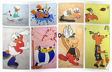 Cartoon Characters  by ©The Creative  Minds