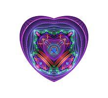 Julian's Heart Photographic Print