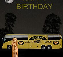 Scream Music Tour Happy Birthday by Eric Kempson