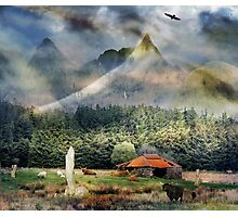 In the valley of the Saint. Photographic Print