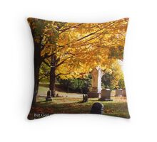 for He shall receive me... Throw Pillow