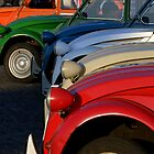 Paris - 6 x 2CV Citroen by Jean-Luc Rollier