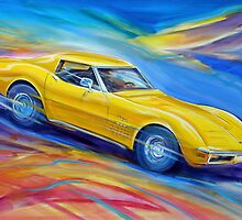 Corvette Stingray 1970 by Brian Tisdall