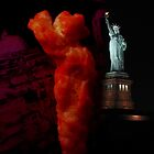 Cheeto Statue of Liberty by Cheeto Freak