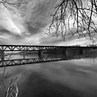 Bridge in Black and White lll by Sara Johnson