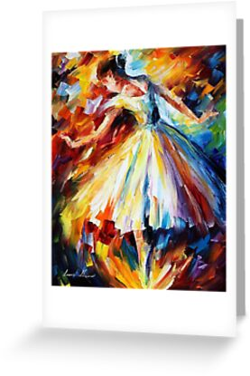 srrounded by Music - original oil painting on canvas by Leonid Afremov by Leonid  Afremov