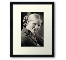 Anything But Ordinary Framed Print