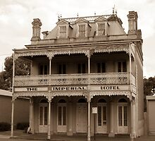 The Imperial Hotel, Castlemaine, Victoria by Ian Williams