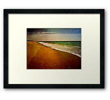 Florida Seascape Framed Print
