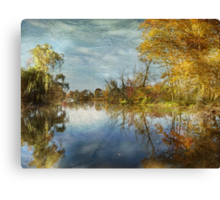 River Repose Canvas Print
