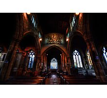 St Andrew's Church: Nave Photographic Print