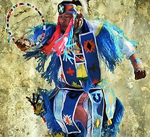 Native American Dancer by Barbara Manis