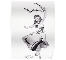 Gondola Dancer Poster