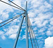 Bridge, Suspension, Footbridge, Dumfries by Hugh McKean