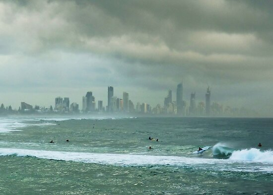Surfers Paradise by BK Photography