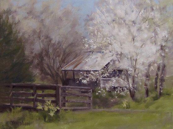 Old Farm Spring by Karen Ilari