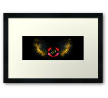 inner works Framed Print
