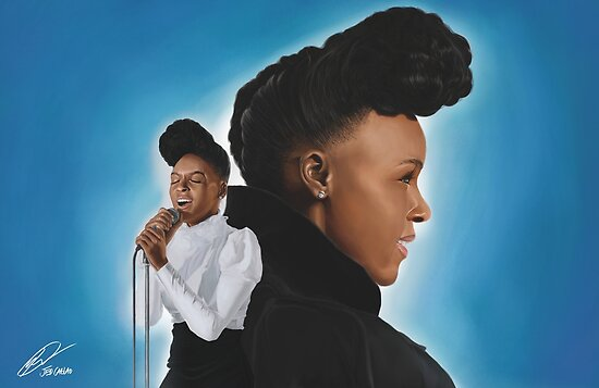 Janelle Monae a.k.a. Cindi Mayweather by jedMUND