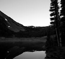 Morning on Moose Lake by singularhiker