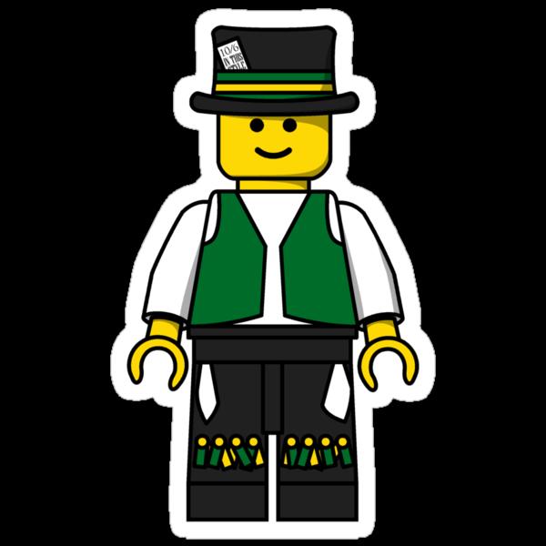 Lego Minifig - Morris Dancer by benthos