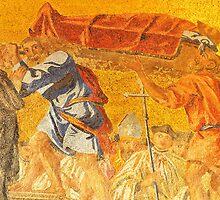 Golden mosaic by neil harrison