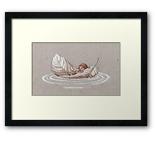Soft Journey Framed Print