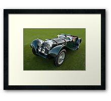 1938 Jaguar SS 100 Framed Print