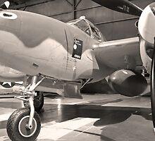 Lockheed P 38 J-10-LO by Robert Burdick