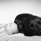 Sweet Dreams with My Puppy by kristideephotog