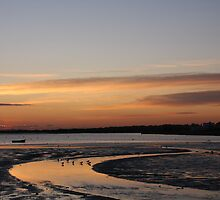 Christchurch harbour by Jennifer Bradford