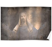 Saint Chaterine of Siena Poster