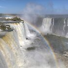 Iguazu Falls V by Paul Duckett