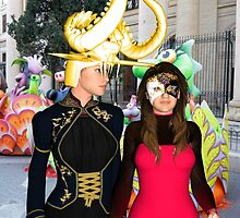 Carnival Girls in Malta by maltanetworkres
