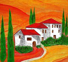 Toscana by Gabi Siebenhühner