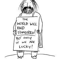 the world will end... by Loui  Jover