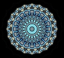 mandala - Bluetitude 07 by 1001cards